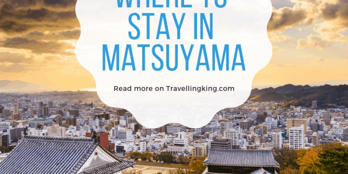 Where to stay in Matsuyama