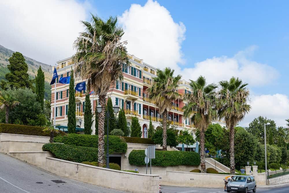 DUBROVNIK. CROATIA - Hotel Hilton Imperial in Dubrovnik, Croatia. Hotel is located near the the Pile Gate of the Old Town Of Dubrovnik. The hotel is built over a century ago