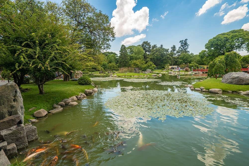 Buenos Aires, Argentina - Japanese garden in Buenos Aires, Argentina
