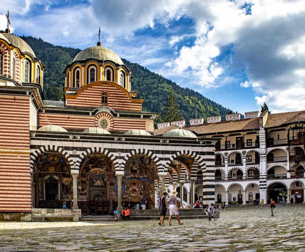 BULGARIA - Monastery of Saint Ivan of Rila, Monastery, Bulgaria