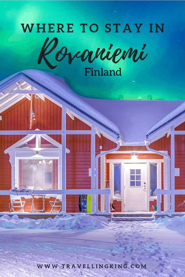 Where to stay in Rovaniemi Finland