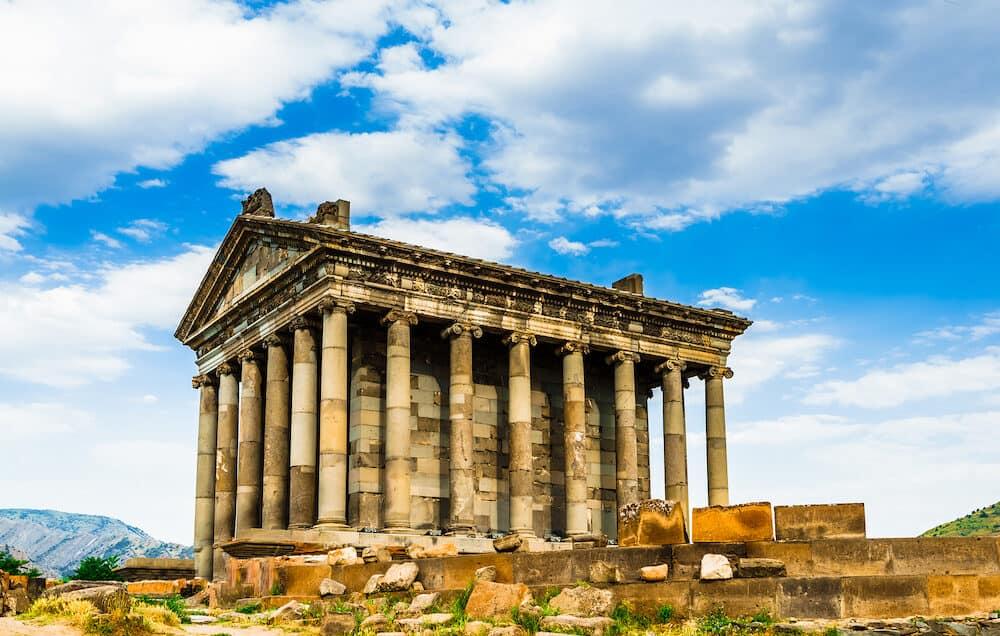 Garni Pagan Temple, the hellenistic temple in Republic of Armenia