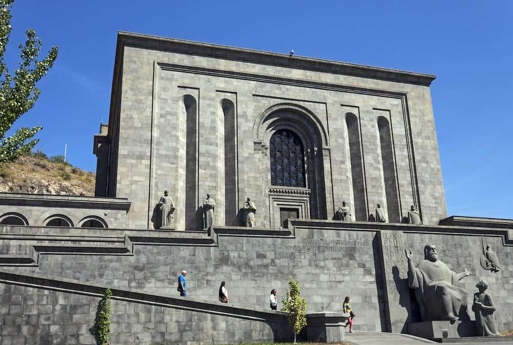 YEREVAN, ARMENIA - :Matenadaran - Institute of Ancient Manuscripts in Yerevan,Armenia.