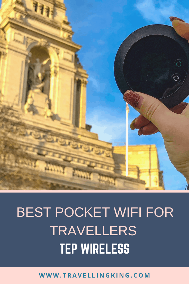 Best Pocket Wifi for Travellers - Tep Wireless