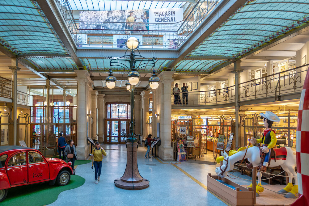 Brussels, Belgium - This beautiful museum is located in an Art Nouveau style building designed by Victor Horta. It has been honouring the creators and heroes of the 9th Art.