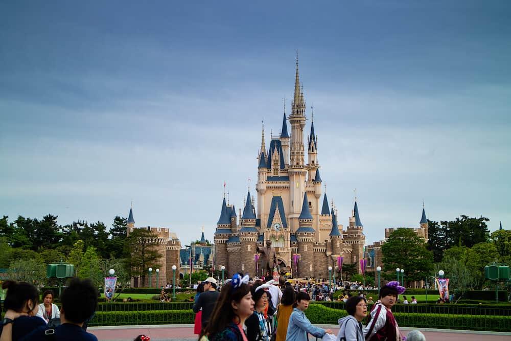Tokyo / Japan - Tokyo Disneyland, very famous attraction in Tokyo.