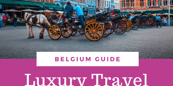 Luxury Travel Guide to Bruges