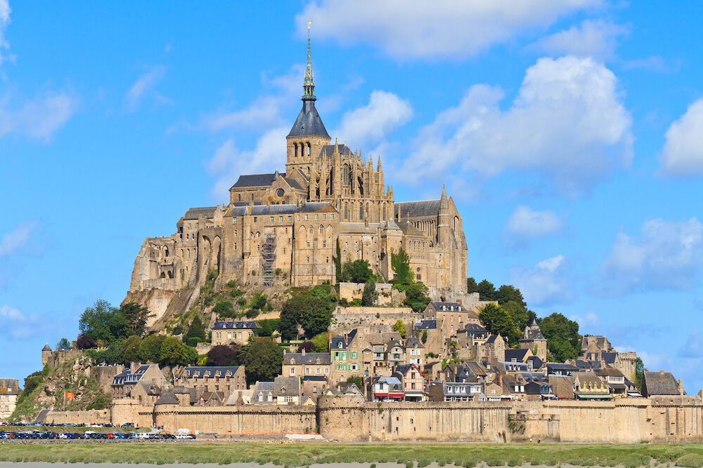 Mont Saint Michel Abbey Normandy / Brittany France