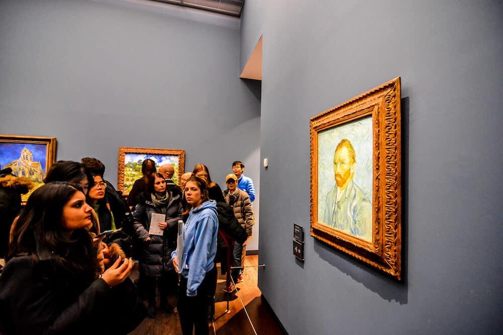 Editorial picture of Orsay Romantic Museum in Paris city