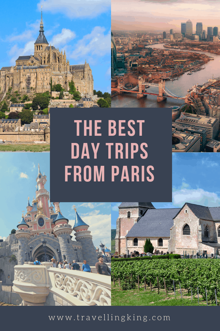 The Best Day trips from Paris