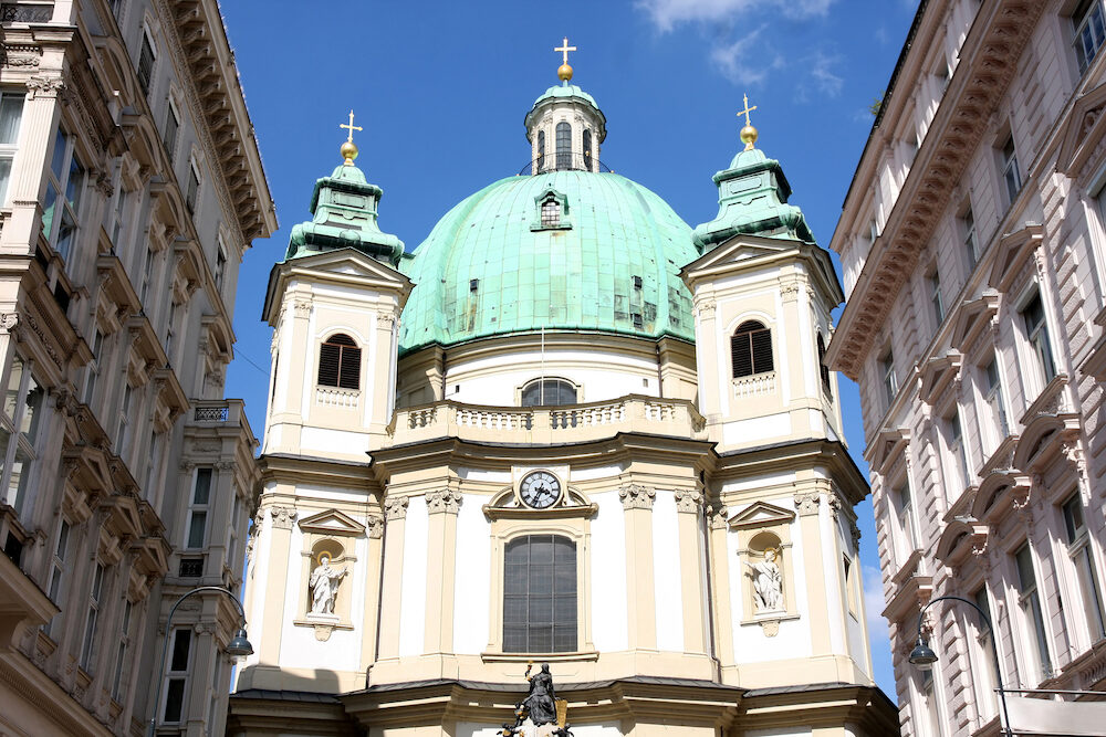 Peterskirche (Saint Peter's Church) in Vienna Austria
