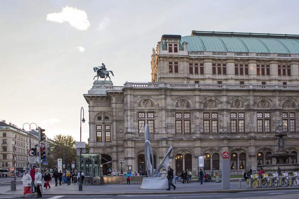 Vienna, Austria - Vienna State Opera. Vienna Opera House.