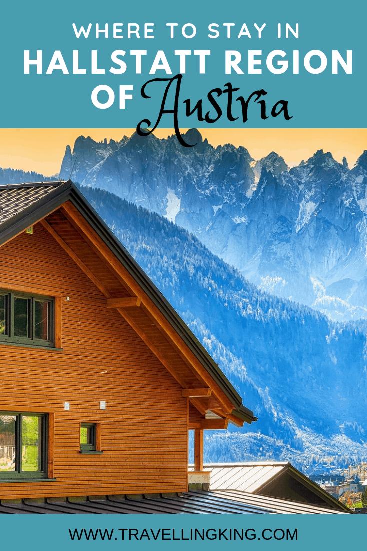 Where to stay in Hallstatt Region of Austria