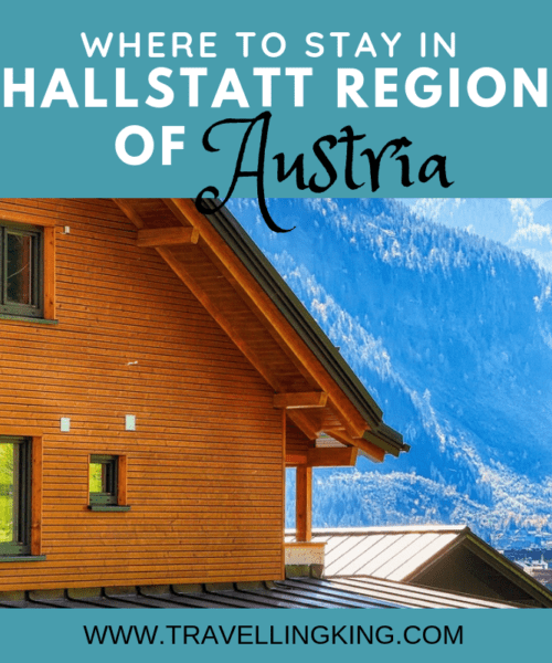 Where to stay in Hallstatt Region of Austria
