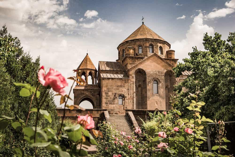 Saint Hripsime Church, Monastery in Echmiadzin Armenia