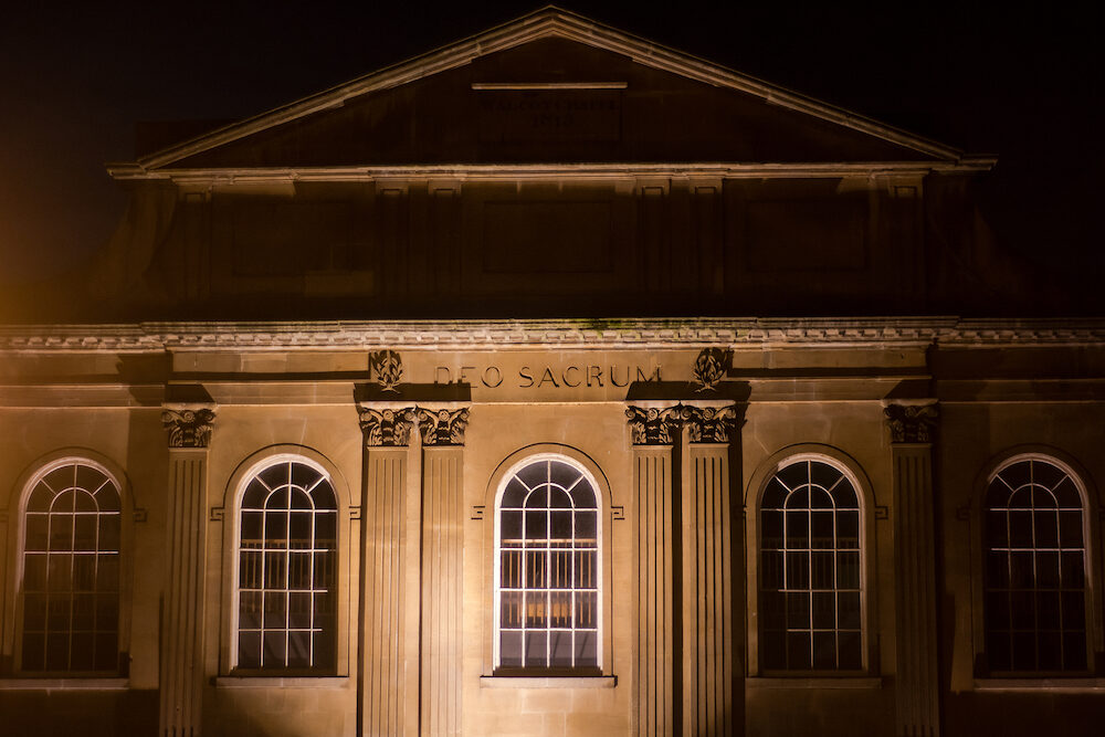 A building from 1815 in the UNESCO World Heritage city of Bath, in Somerset, UK
