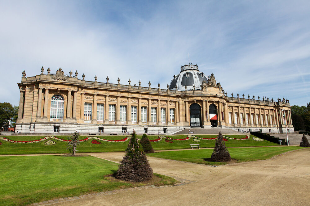 Royal Museum For Central Africa In Tervuren, Close To Brussels In Belgium