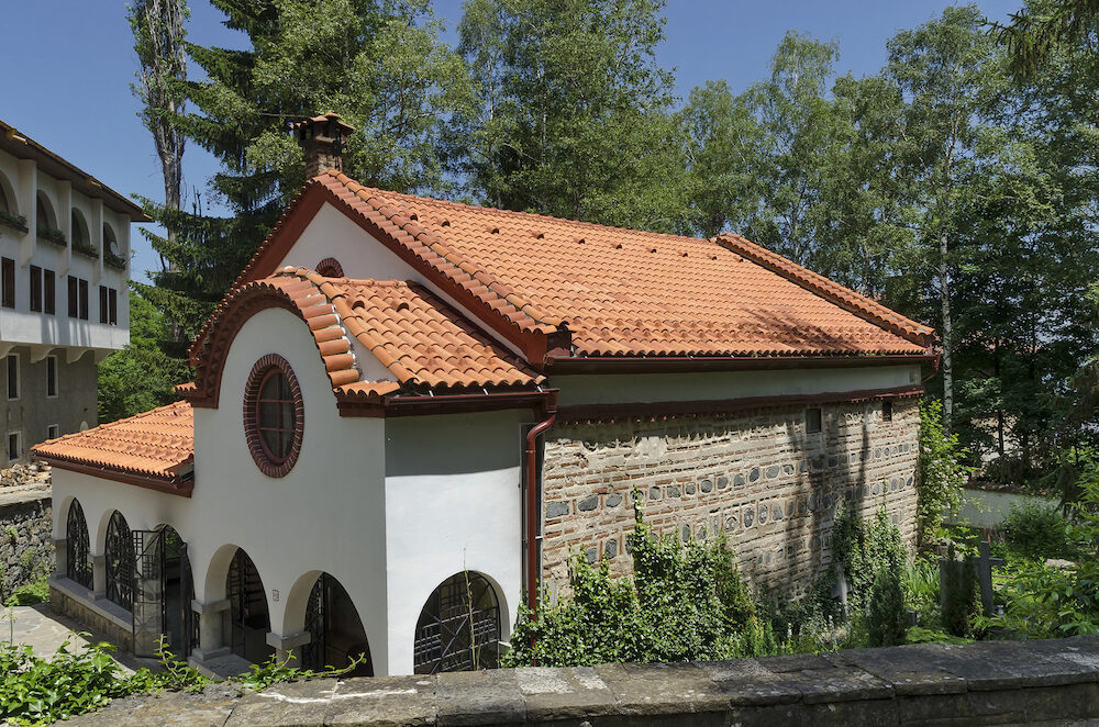 Dragalevtsi Monastery church, , Vitosha mountain, Sofia Bulgaria