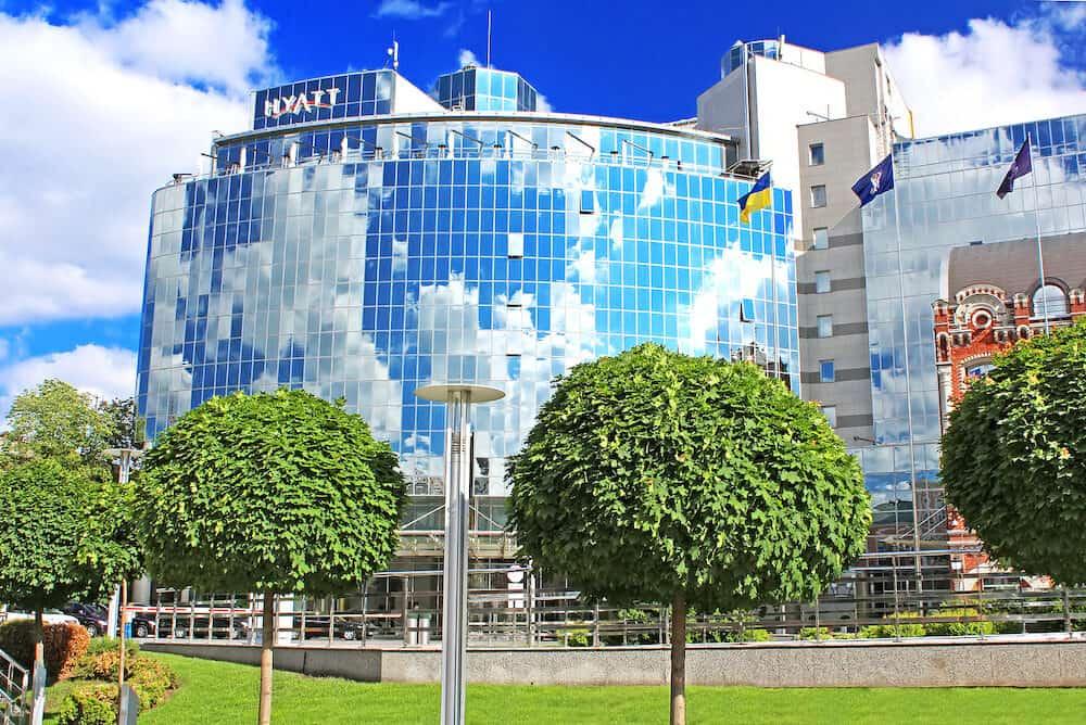 Hyatt Regency opens 5-Star Hotel. Global Hyatt Corporation - an international hotel chain the highest level.