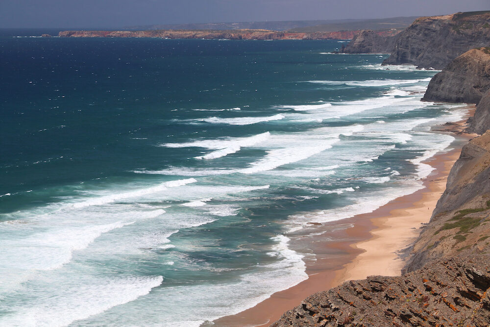 Cordoama Beach, Portugal - West Atlantic coast of Algarve region.