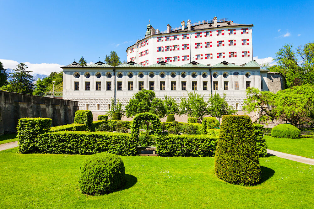 Ambras Castle or Schloss Ambras Innsbruck is a castle and palace located in Innsbruck the capital city of Tyrol Austria