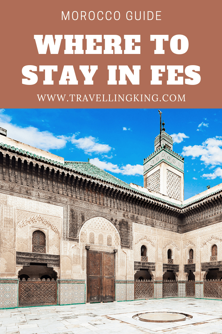 Where to stay in Fes