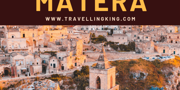 Where to stay in Matera