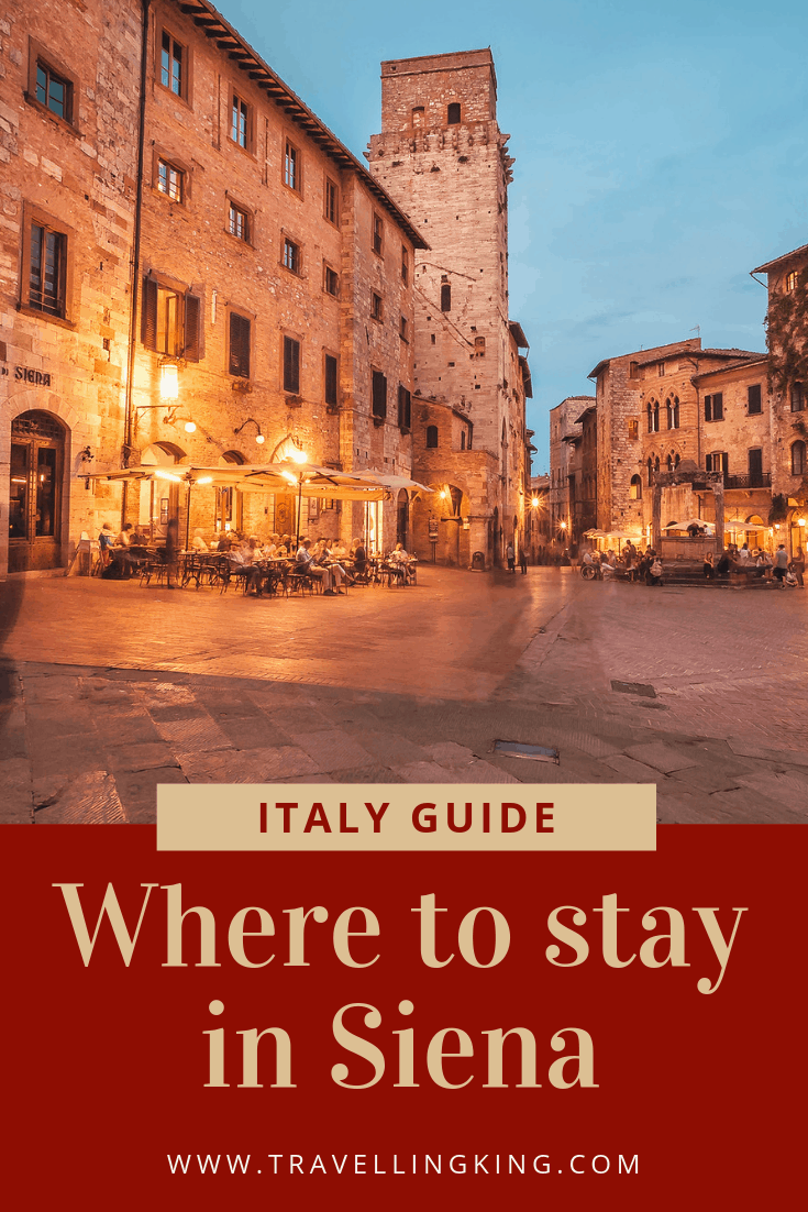 Where to stay in Siena