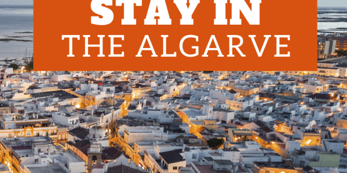 Where to stay in The Algarve
