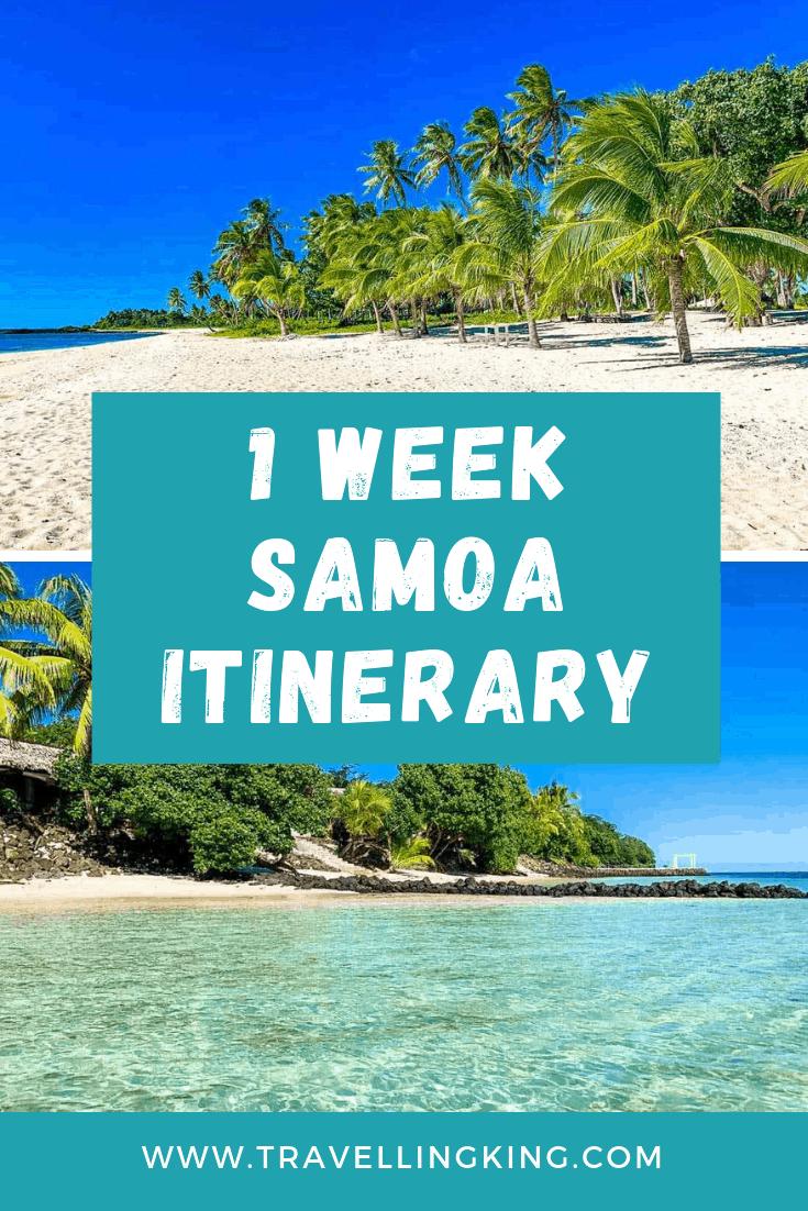1 Week Samoa Itinerary