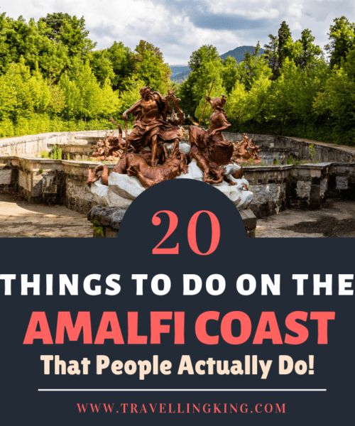 20 Things to do on the Amalfi Coast - That People Actually Do!