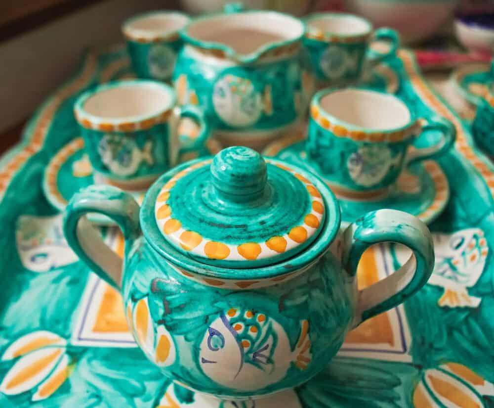 Italian pottery, Vietri sul Mare, Vietri on the Sea