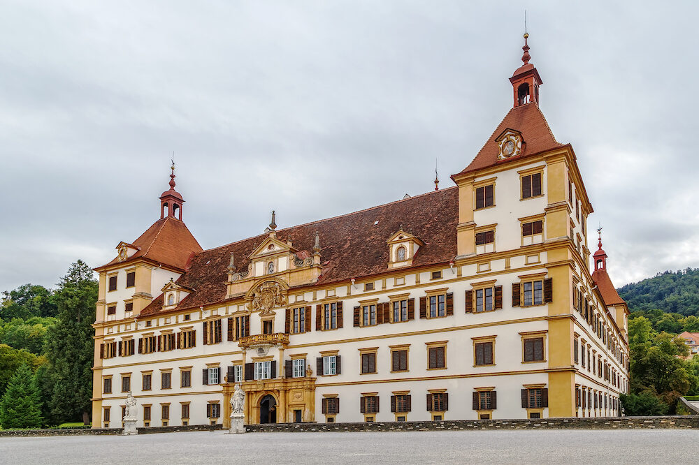 Eggenberg Palace in Graz is the most significant Baroque palace complex in Styria Austria