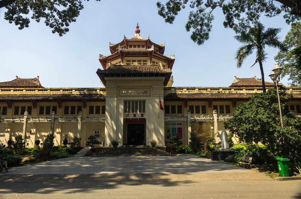 Ho Chi Minh, Vietnam - The Museum of Vietnamese History in Ho Chi Minh City,
