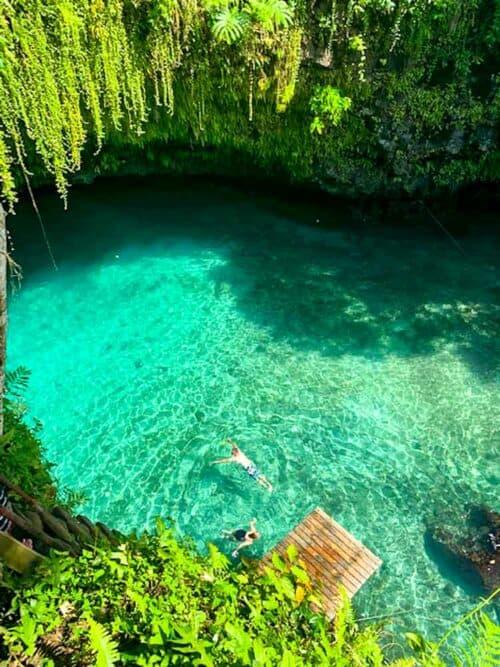 To Sua Ocean Trench - Samoa