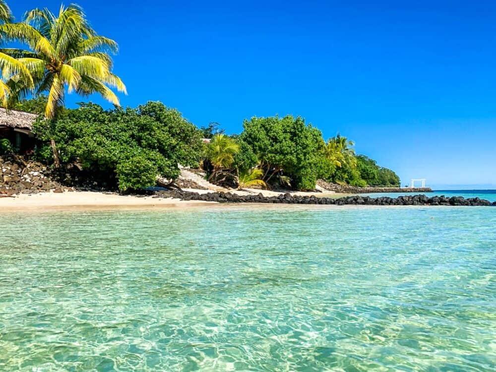 Stevensons at Manase- Samoa