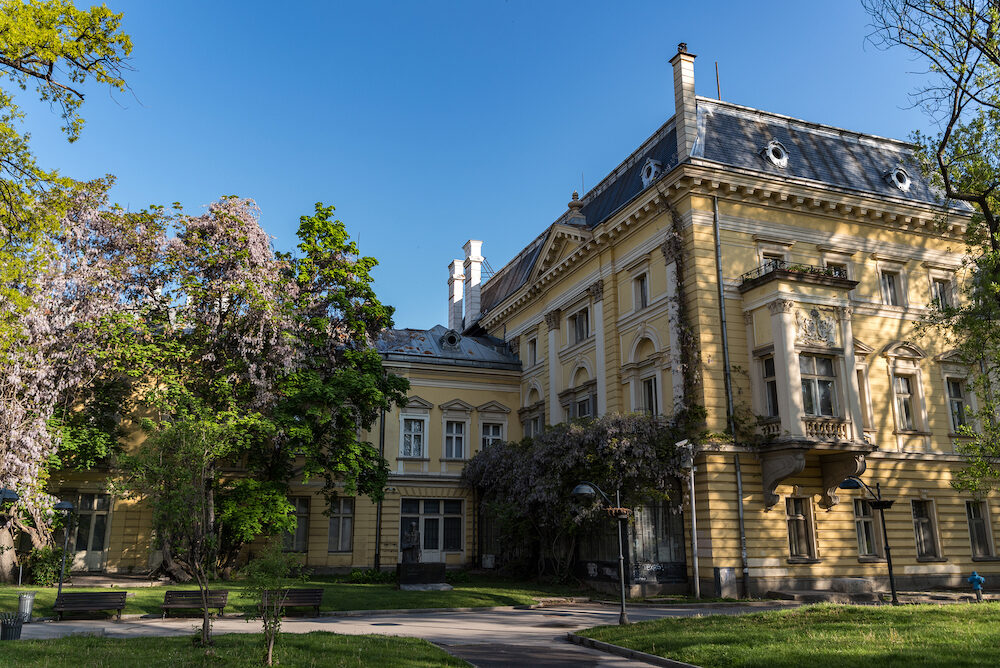 Sofia, Bulgaria - Department of National art gallery and Etnographic museum in former king palace in Sofia Bulgaria. Palace was built in 1880 years
