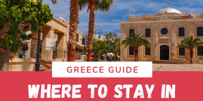 Where to stay in Crete