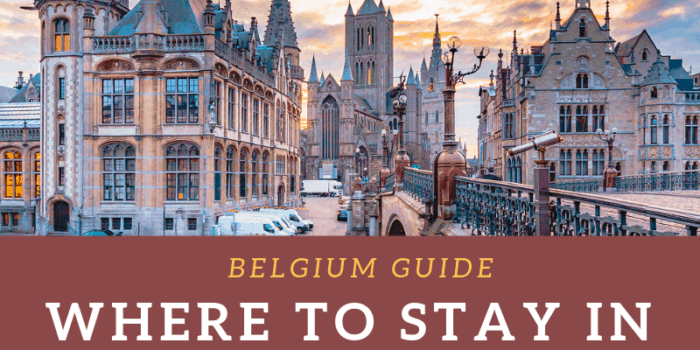 Where to stay in Ghent