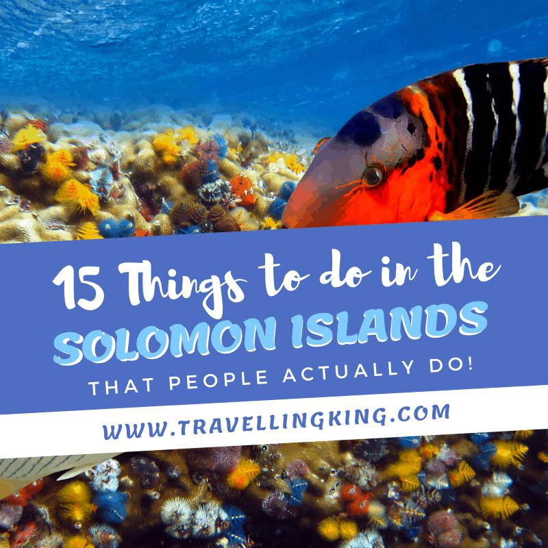 Solomon Islands Beach: 15 Things To Do In The Solomon Islands