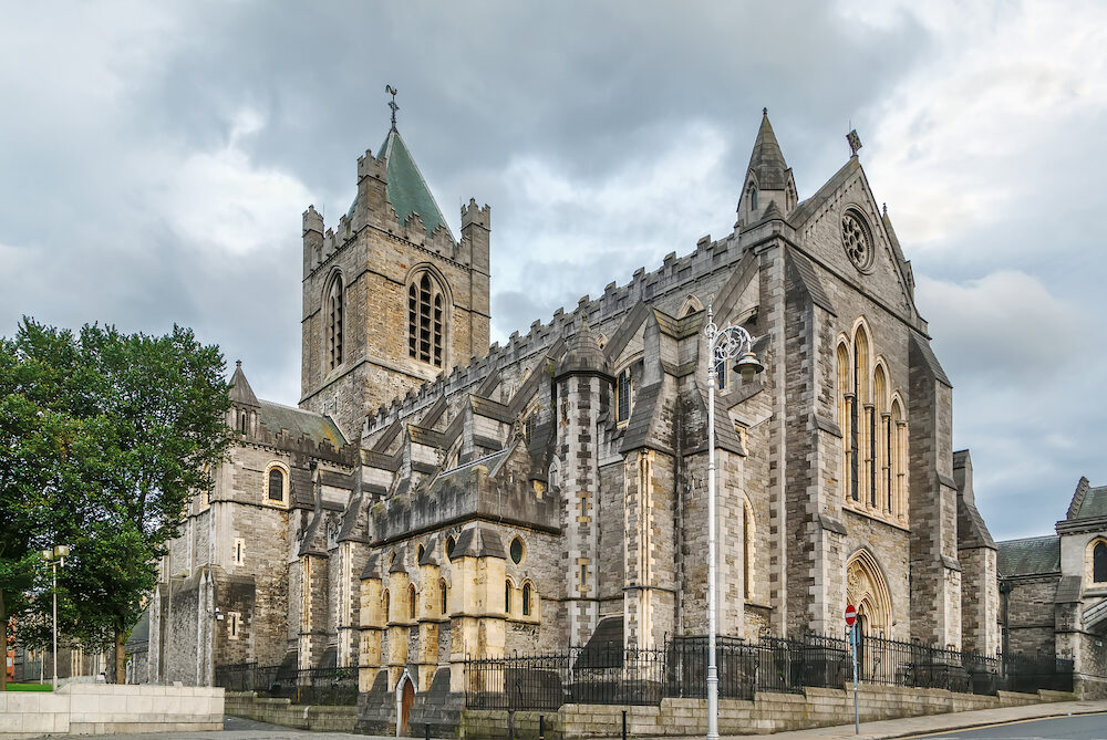 Christ Church Cathedral, more formally The Cathedral of the Holy Trinity, is the cathedral in Dublin, Ireland