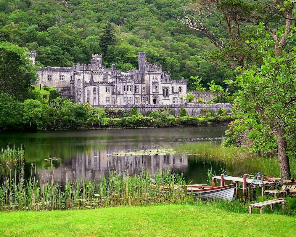The tranquil wonder of Kylelmore Abbey, in western Ireland