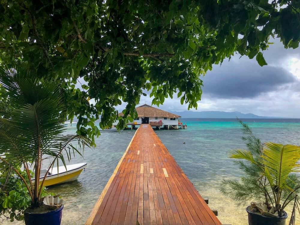 Solomon Islands - Fat Boys resort in Gizo
