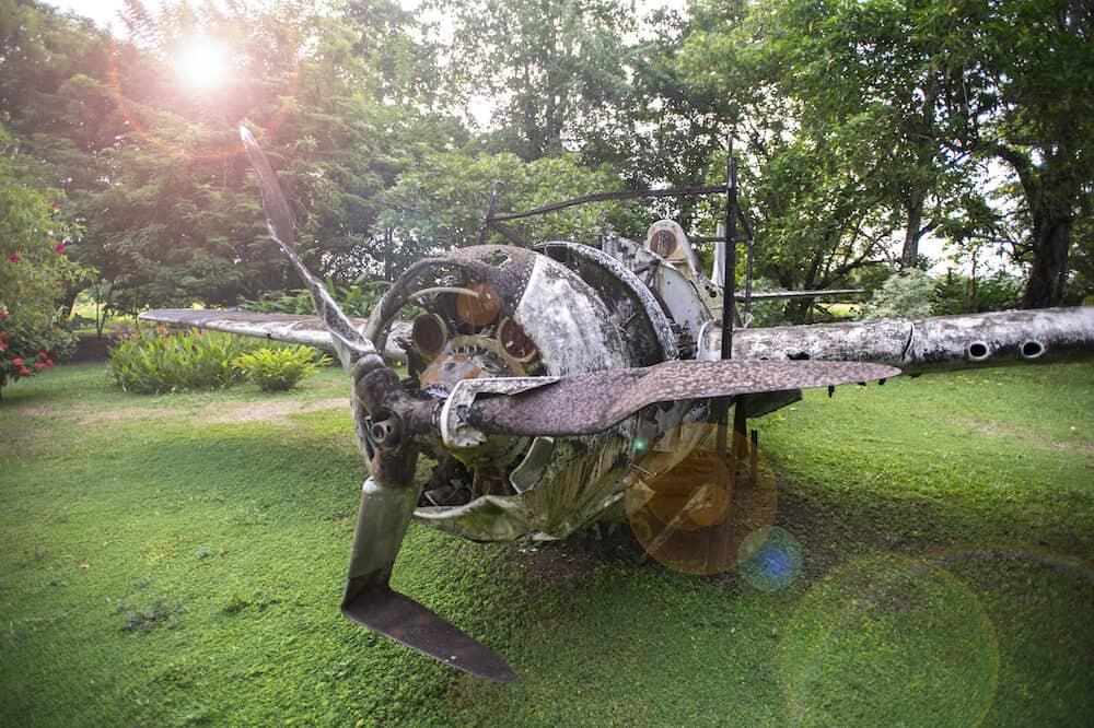 Solomon Islands - Vilu War Museum