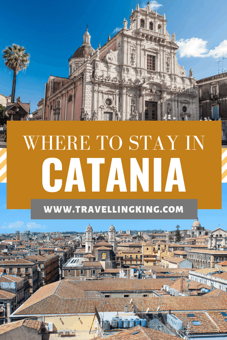 Where to stay in Catania