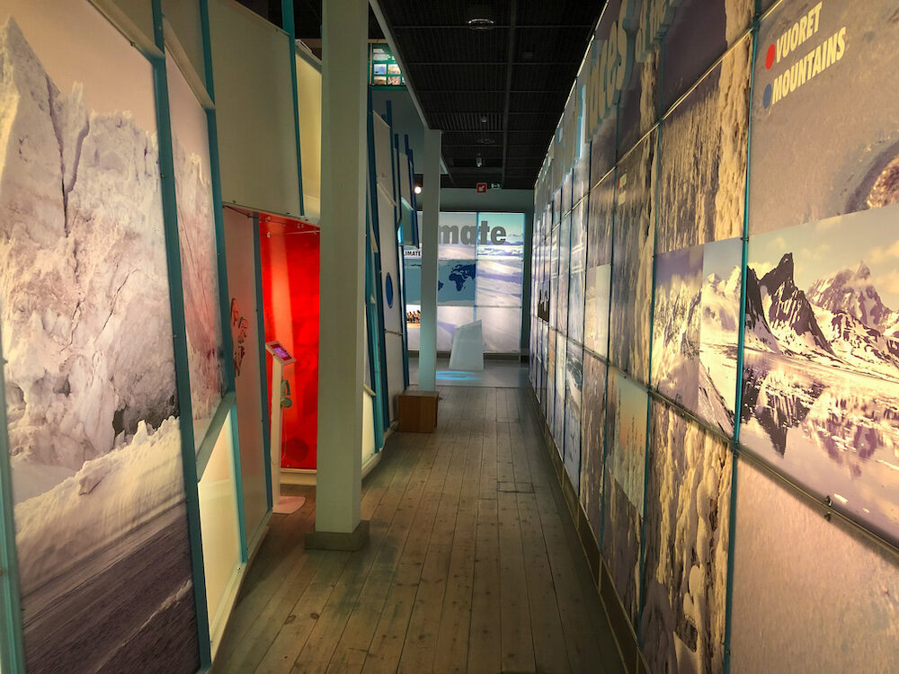 Arctic exhibit at the Arktikum in Rovaniemi