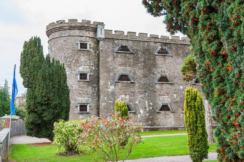 The old City Gaol in Cork. Republic of Ireland. Built in 1824. Former prison
