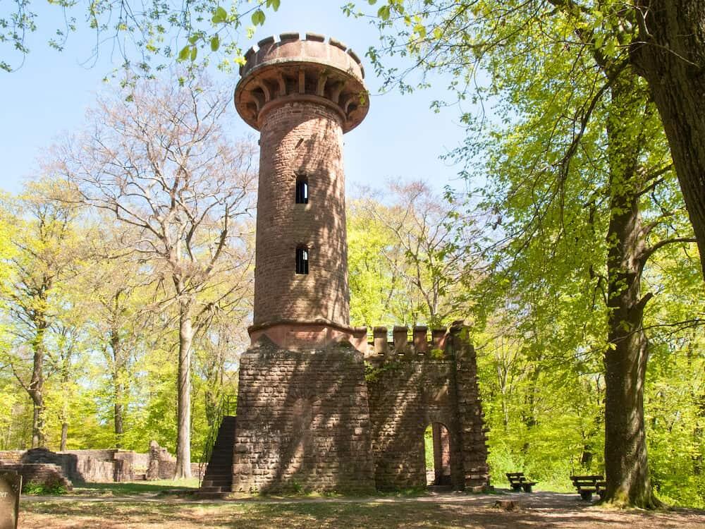 Heidelberg Germany - HeiligenbergTurm RuhineStephanskloster