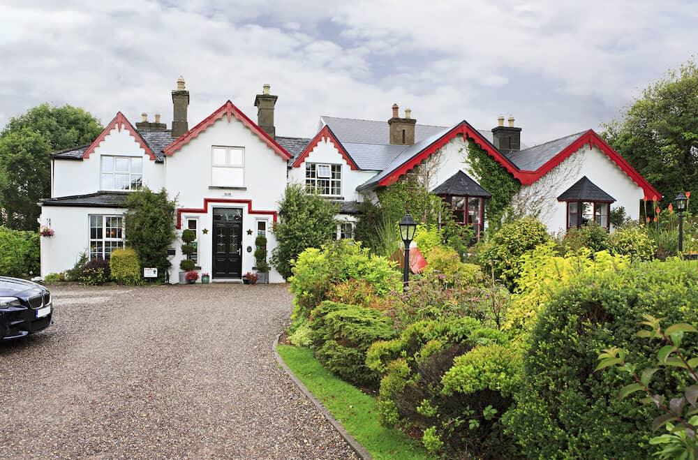 Killarney, Ireland - Killeen House Hotel in the Killarney.