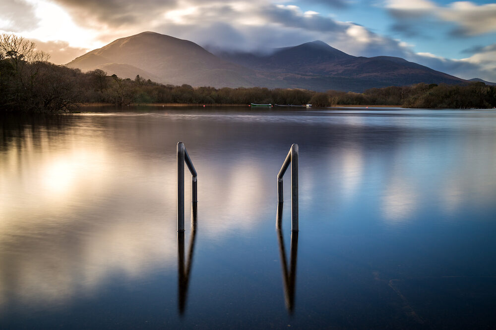 Sunset at Lough Leane in Killarney National Park